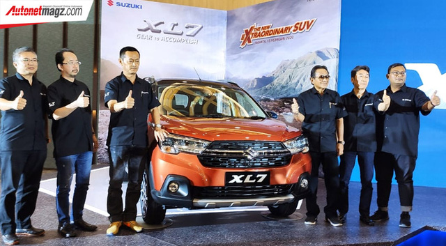 Ra mắt Suzuki XL7 - SUV của Ertiga đấu vua doanh số Xpander - Ảnh 1.