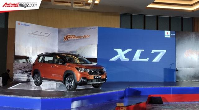 Ra mắt Suzuki XL7 - SUV của Ertiga đấu vua doanh số Xpander - Ảnh 2.
