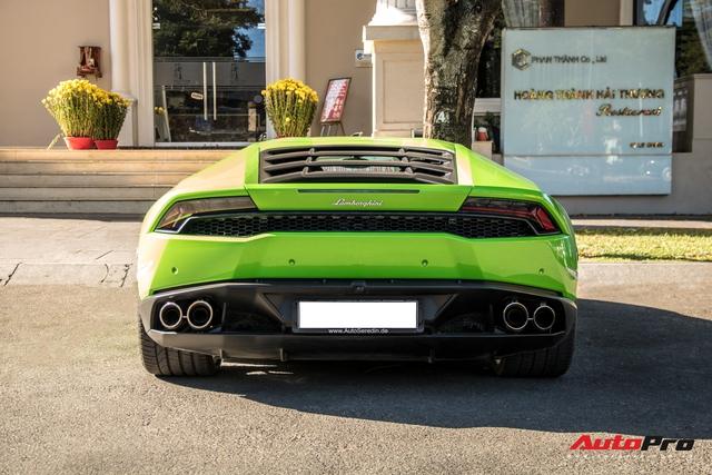 Phan Thành cầm lái Lamborghini Huracan khó bắt gặp nhất Việt Nam dạo phố - Ảnh 6.