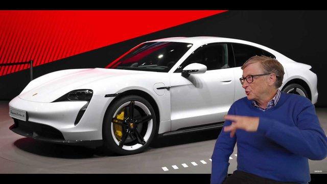 Elon Musk dỗi vì Bill Gates mua Porsche Taycan thay vì Tesla Model S - Ảnh 1.