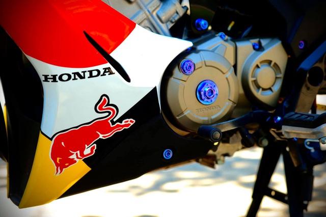 Mua Honda Winner X 50 triệu, dân chơi Huế bỏ thêm cả trăm triệu đồng độ lại: Phong cách 'lệch tông' gây chú ý - Ảnh 6.