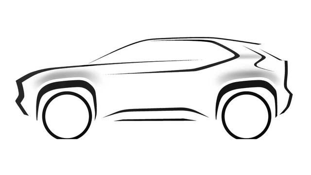 Toyota hé lộ SUV hoàn toàn mới, đối đầu Honda HR-V - Ảnh 2.
