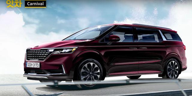 Kia Sedona thế hệ mới dần lộ diện với ngoại thất đẹp như Range Rover - Ảnh 1.