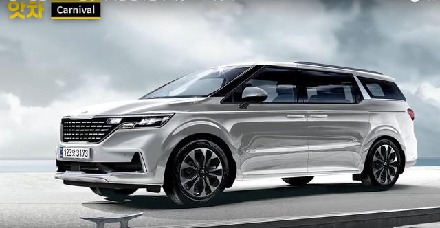 Kia Sedona thế hệ mới thiết kế như Range Rover thêm phiên bản 'xe chủ tịch' với nội thất hứa hẹn sang xịn bất ngờ - Ảnh 1.