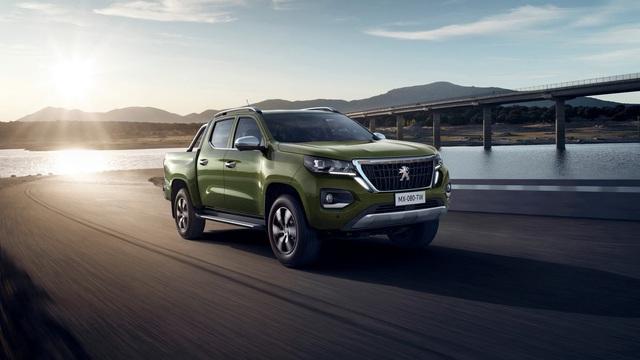 Ra mắt Peugeot Landtrek - Bán tải 6 chỗ đối đầu Ford Ranger