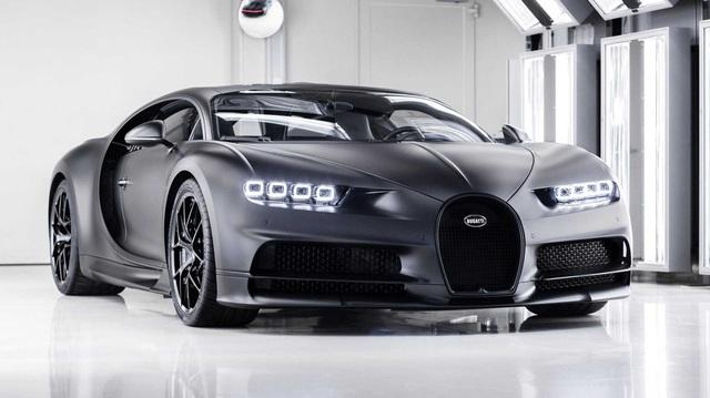 Bugatti Chiron Noire Sportive - Hết nửa cuộc đời của một siêu xe