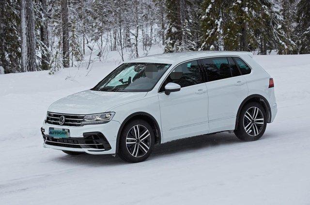 Volkswagen Tiguan R sắp ra mắt, có thể dùng động cơ Audi để vượt trội Honda CR-V - Ảnh 1.