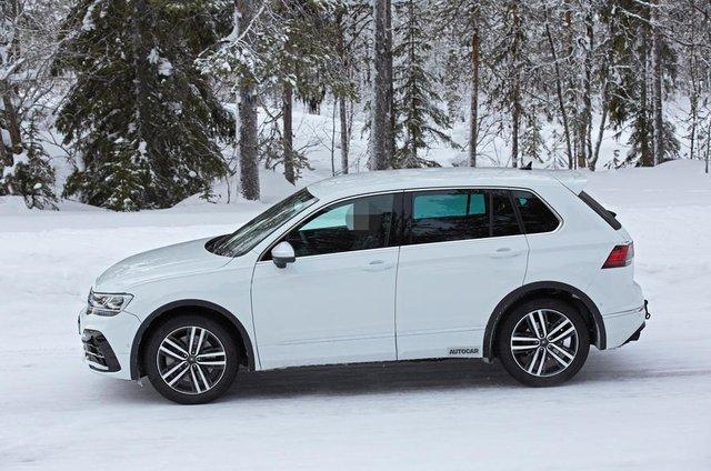 Volkswagen Tiguan R sắp ra mắt, có thể dùng động cơ Audi để vượt trội Honda CR-V - Ảnh 3.