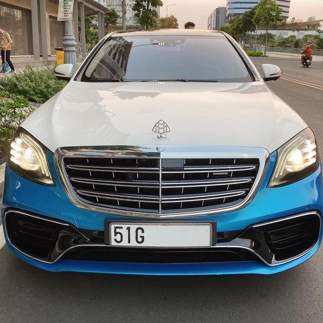 Diệp Lâm Anh bán Mercedes-Maybach S 450 độ phong cách siêu dị giá 6,8 tỷ đồng kèm lời hứa hẹn tặng quà hấp dẫn cho người mua - Ảnh 2.