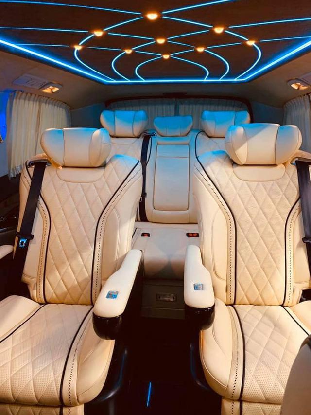 Sau màn độ tới nóc, Mercedes-Benz V-Class Maybach độc nhất Việt Nam rao bán lại giá hơn 2 tỷ đồng - Ảnh 2.