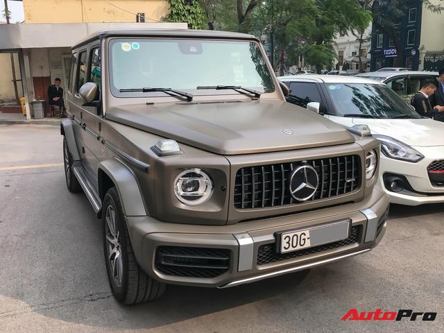 Tránh đụng hàng, đại gia Hà Nội tậu Mercedes-AMG G63 với màu sơn hơn 6.000 USD - Ảnh 3.