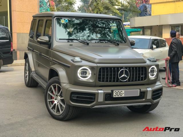Tránh đụng hàng, đại gia Hà Nội tậu Mercedes-AMG G63 với màu sơn hơn 6.000 USD - Ảnh 1.