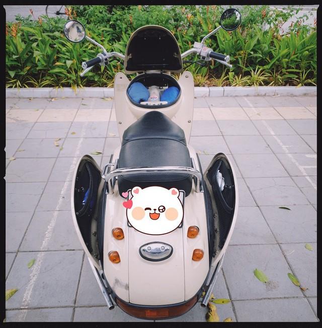 Dân chơi Hà Nội săn xe máy Nhật 28 năm tuổi đẹp như mới - Ảnh 2.