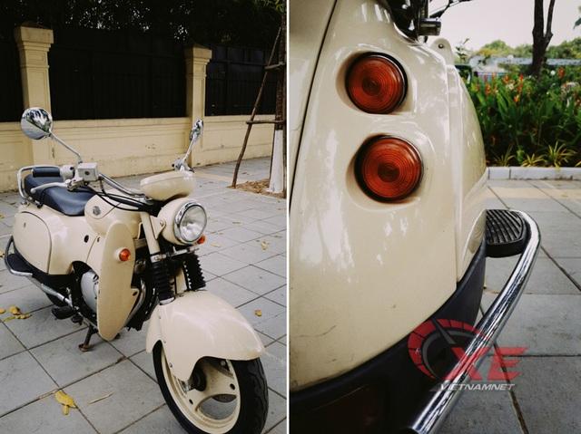 Dân chơi Hà Nội săn xe máy Nhật 28 năm tuổi đẹp như mới - Ảnh 3.