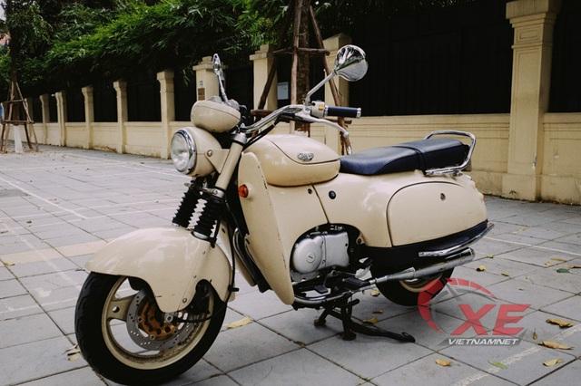 Dân chơi Hà Nội săn xe máy Nhật 28 năm tuổi đẹp như mới - Ảnh 6.
