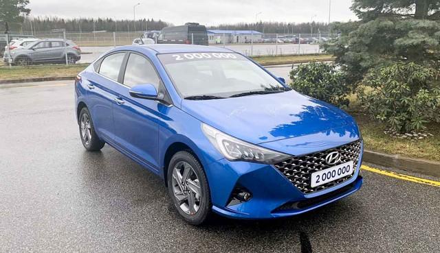 Hyundai Accent 2020 lộ loạt ảnh chi tiết mới, đe nẹt Toyota Vios và Honda City  - Ảnh 1.