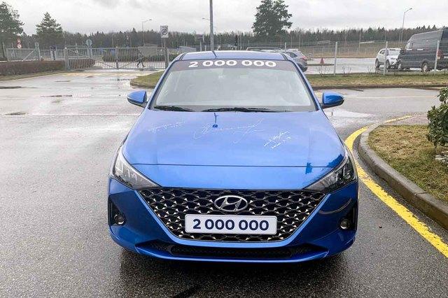 Hyundai Accent 2020 lộ loạt ảnh chi tiết mới, đe nẹt Toyota Vios và Honda City  - Ảnh 2.