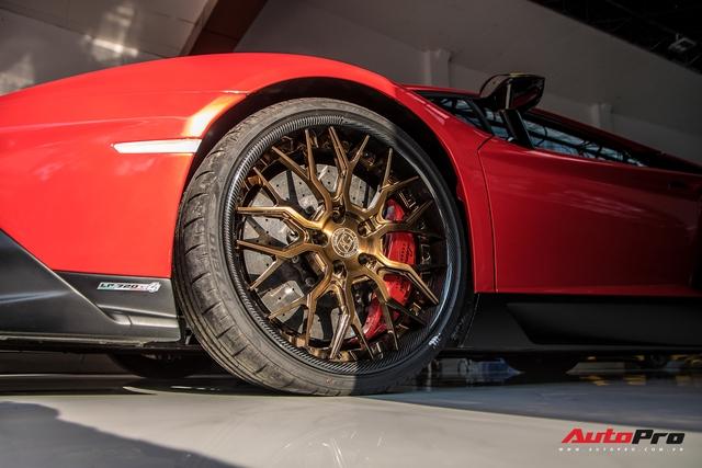 Lamborghini Aventador độ bản 50 năm của đại gia Bạc Liêu tái xuất Sài Gòn với nhiều chi tiết mới - Ảnh 8.