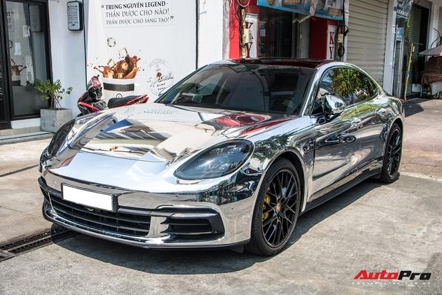 Đại gia Đồng Nai lột xác Porsche Panamera theo phong cách Dubai - Ảnh 1.