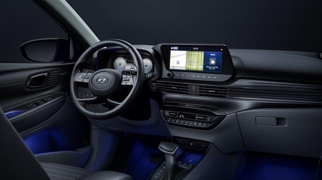 Nội thất Hyundai i20 thế hệ mới: 2 màn hình lớn, trải nghiệm tiện nghi chưa từng có