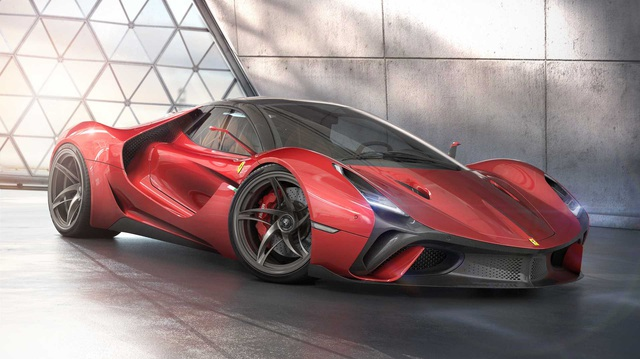 Stallone Concept: Ý tưởng tốt của fan cuồng mà Ferrari cần tham khảo