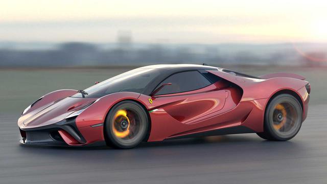 Stallone Concept: Ý tưởng tốt của fan cuồng mà Ferrari cần tham khảo - Ảnh 1.