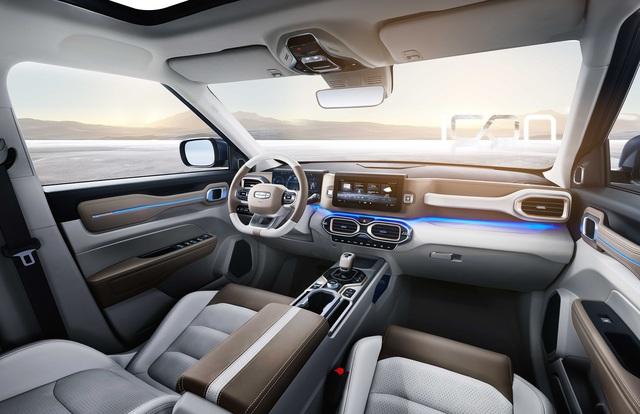 Hãng xe Trung Quốc Geely mở bán SUV Icon đẹp như Volvo, bảo vệ người dùng khỏi virus, giá rẻ bèo từ 16.500 USD - Ảnh 6.