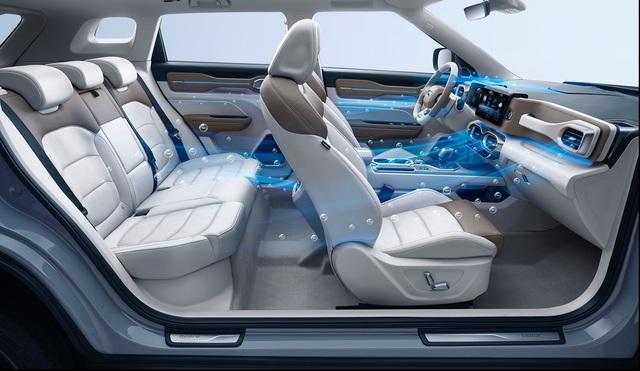 Hãng xe Trung Quốc Geely mở bán SUV Icon đẹp như Volvo, bảo vệ người dùng khỏi virus, giá rẻ bèo từ 16.500 USD - Ảnh 4.