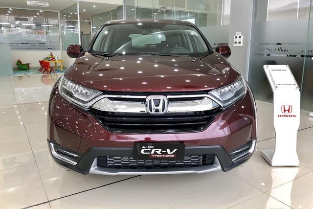 Honda CR-V giảm giá tới 80 triệu đồng tại đại lý, để ngỏ khả năng về bản nâng cấp 2020 - Ảnh 1.