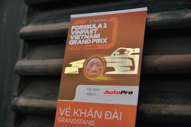 Trên tay vé F1 giá hơn 7 triệu đồng: Chưa xịn như kỳ vọng, chờ 7 tháng mới đến tay - Ảnh 4.