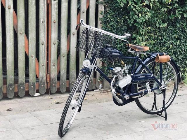 Xe máy Honda cổ 73 tuổi giá 65 triệu, cả Việt Nam có 3 chiếc - Ảnh 2.