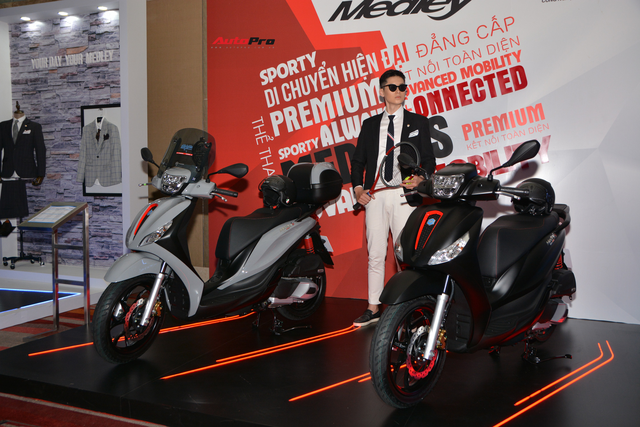 Ra mắt Piaggio Medley 2020 - Đấu Honda SH bằng giá bán từ 75 triệu đồng - Ảnh 2.