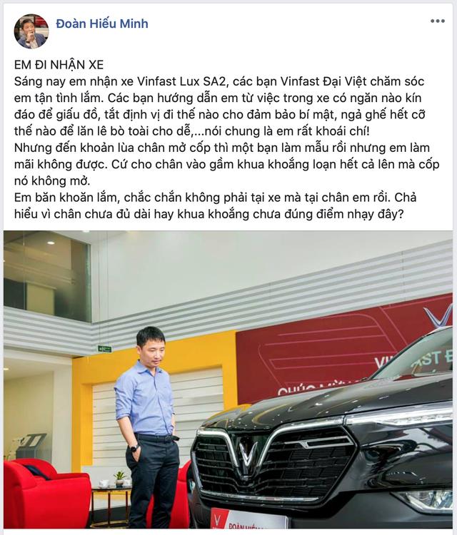 'Ông trùm' Rolls-Royce Việt Nam mua VinFast Lux SA2.0 với màu sơn và trang bị gây bất ngờ - Ảnh 3.