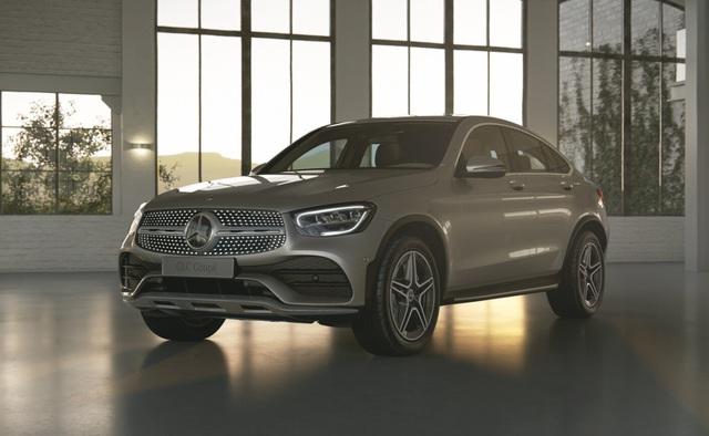 Lộ diện Mercedes-Benz GLC 300 Coupe 2020 sắp ra mắt Việt Nam, giá dự kiến gần 3 tỷ đồng - Ảnh 1.