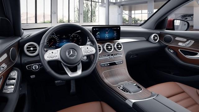 Lộ diện Mercedes-Benz GLC 300 Coupe 2020 sắp ra mắt Việt Nam, giá dự kiến gần 3 tỷ đồng - Ảnh 4.
