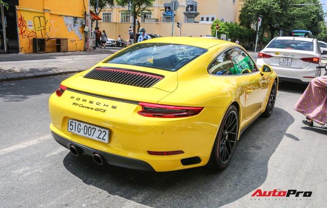Bắt gặp Porsche 911 Carrera GTS vàng hành tung bí ẩn nhất Việt Nam - Ảnh 7.