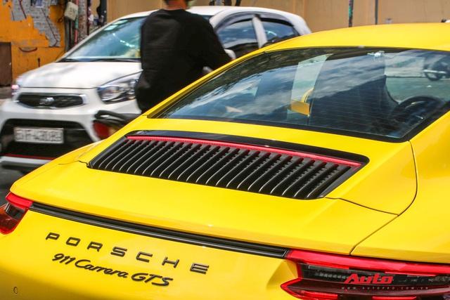 Bắt gặp Porsche 911 Carrera GTS vàng hành tung bí ẩn nhất Việt Nam - Ảnh 8.