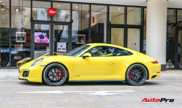 Bắt gặp Porsche 911 Carrera GTS vàng hành tung bí ẩn nhất Việt Nam - Ảnh 4.