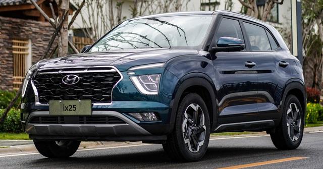 Sắp ra mắt Hyundai Creta đời mới - SUV chết yểu ở Việt Nam giờ như tiểu Palisade - Ảnh 1.