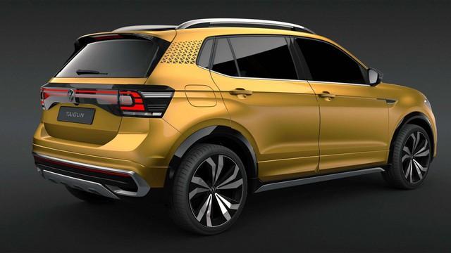 Trình diện Volkswagen Taigun - SUV mới đối đầu Ford EcoSport và ngáng đường Kia Seltos - Ảnh 3.