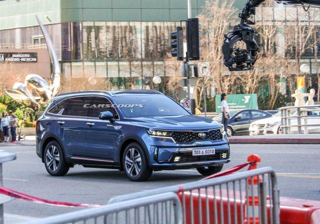 Hyundai Santa Fe nhanh chóng nâng cấp, đe nẹt Kia Sorento thế hệ mới sắp ra mắt - Ảnh 3.