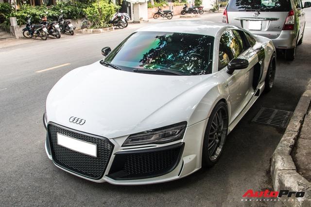 Đỉnh cao của độ xe là về zin, Audi R8 độ độc nhất Việt Nam trở về màu nguyên bản - Ảnh 1.