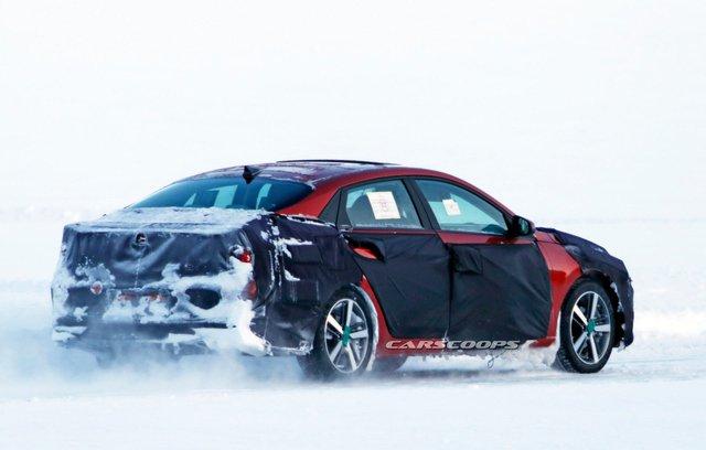 Cạnh tranh Mazda3, Hyundai Elantra tiếp tục lột xác theo hướng dữ dằn hơn - Ảnh 3.