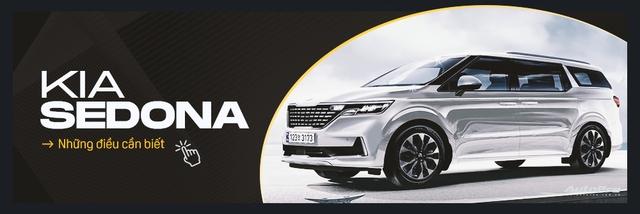 Đánh giá nhanh Kia Sedona 11 chỗ do THACO xuất khẩu: Đánh đổi thoải mái lấy thực dụng - Ảnh 3.