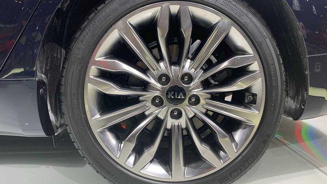 Kia K7 2020 có lưới tản nhiệt siêu to khổng lồ như BMW 7-Series, nội thất lột xác khỏi thiết kế lỗi thời của bản cũ - Ảnh 5.