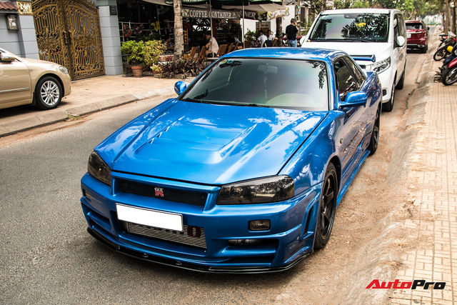 Nissan Skyline GT-R R34 - huyền thoại xe đua đường phố bất ngờ xuất hiện ở Việt Nam - Ảnh 6.