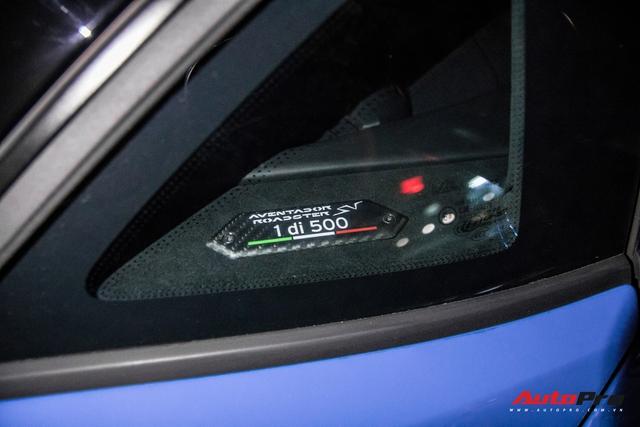 Những chi tiết độc nhất giúp Lamborghini Aventador SV Roadster trở thành siêu phẩm tại Việt Nam - Ảnh 9.