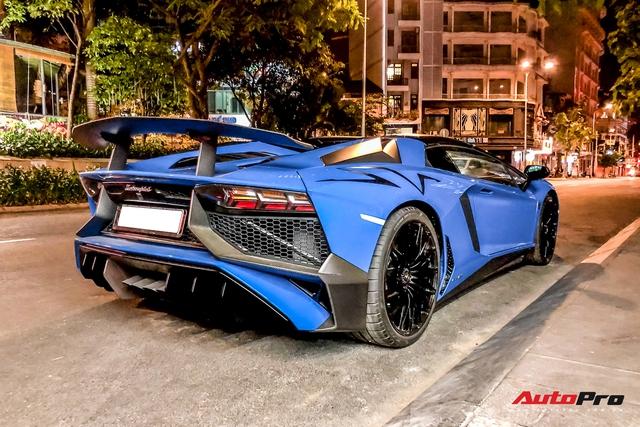 Những chi tiết độc nhất giúp Lamborghini Aventador SV Roadster trở thành siêu phẩm tại Việt Nam - Ảnh 5.