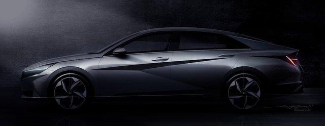 Hyundai Elantra hoàn toàn mới lộ diện: Đẹp xuất sắc, đối đầu Mazda3 - Ảnh 1.