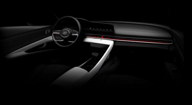 Hyundai Elantra hoàn toàn mới lộ diện: Đẹp xuất sắc, đối đầu Mazda3 - Ảnh 2.
